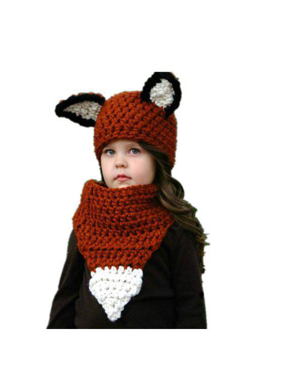 fancy Baby Hat Neckerchief 2 Pcs Knitting Baby Accessory - AMERICAN BEAUTY c7a6a35e4a1