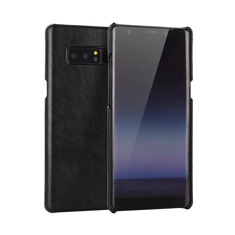 Wkae Retro Frosted Genuine Leather Protective Cover Case for Samsung Galaxy Note 8 226917505