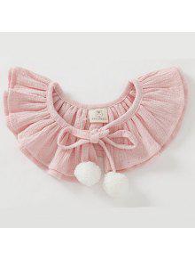 طفل الفتيات الرأس كرات الصلبة لطيف الطفل عباءة - زهري 10-12 شهر