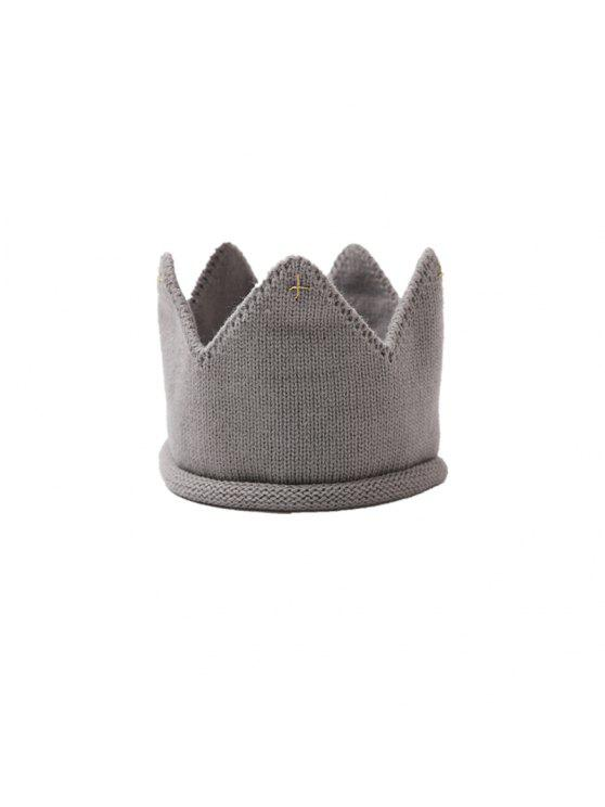 2018 Sombrero Con Forma De Corona De Babys Sombrero Lindo Con Punto ...