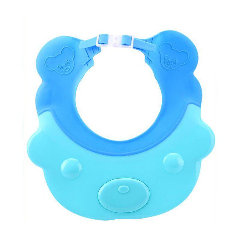 Chapeau imperméable de shampooing de silicone de bébé de chapeau imperméable de douche d'oreille