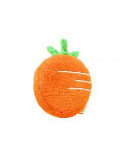 Bain De Coton De Pulpe De Bois Pour Enfants Avec La Forme De Fruit Bath Bath Bath Must - Orange