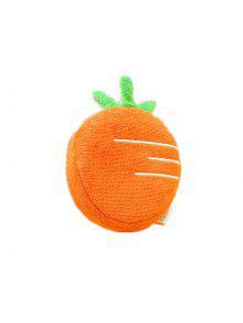 الأطفال لب الخشب حمام القطن مع الفاكهة شكل حمام حمام حمام يجب - البرتقالي