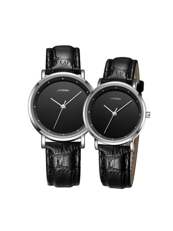 10aa1f63b Sinobi S9598G 4127 Fashion Pin Buckle Couple Watch
