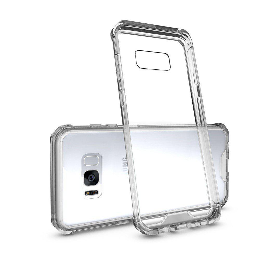 Housse transparente pour ordinateur portable antidébranlable pour Samsung Galaxy S8 Plus