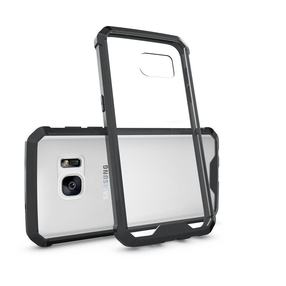Housse transparente pour ordinateur portable sans glace antidérapante pour Samsung Galaxy S7