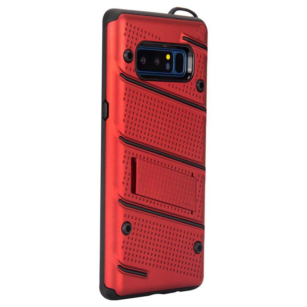 Wkae New Hybrid Dual Layer Thin Light Weight Back Cover Case with Stand for Samsung Galaxy Note 8 229700402