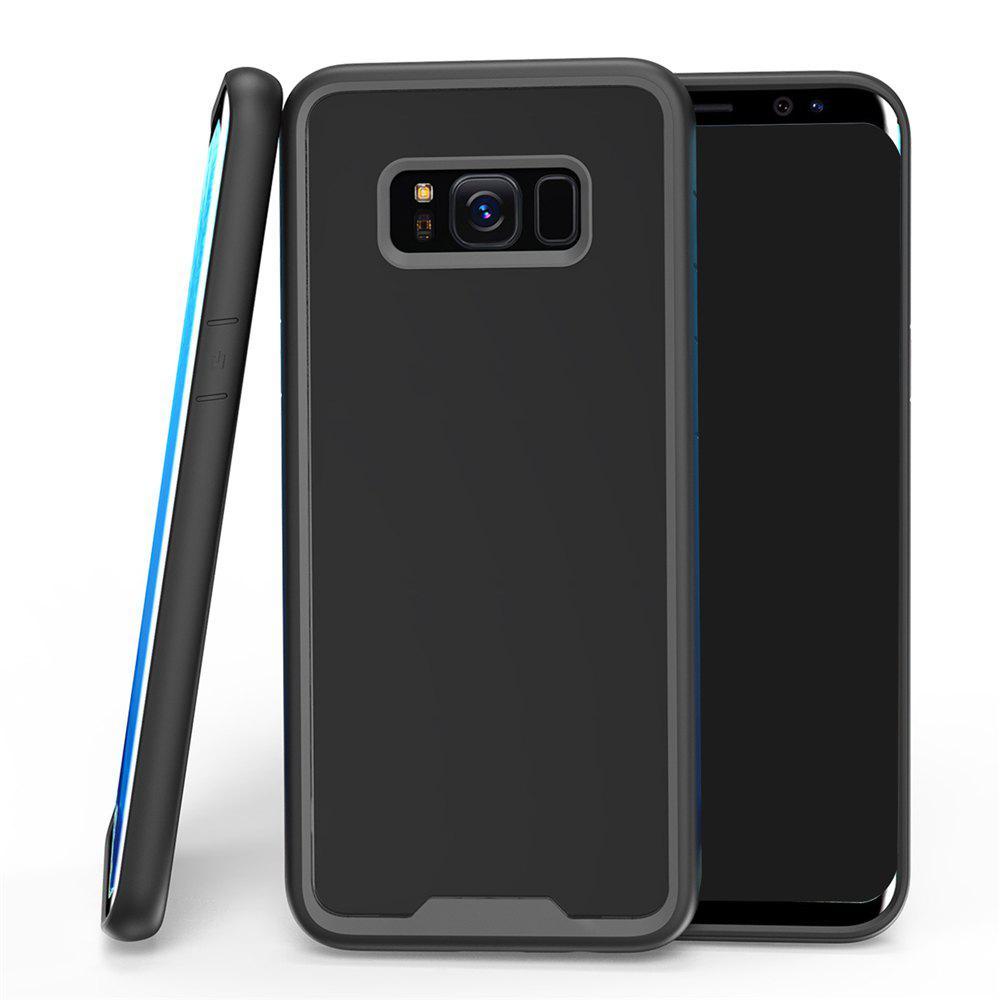 Style Premium Hybrid Protector Clear Bumper Case Scratch résistant pour Samsung Galaxy S8 Plus