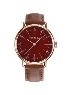 MINI FOCUS Mf0056g 4530 Montre Homme - Brun-rouge