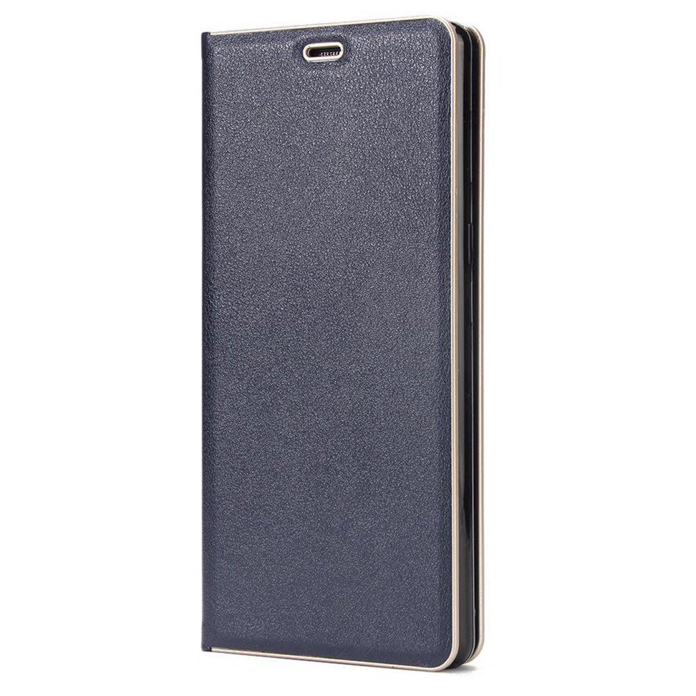 Wkae Belle élégante fermeture magnétique Housse de protection en cuir PU avec Kickstand et slot pour carte pour Samsung Galaxy Note 8