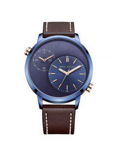 Montre MINI FOCUS Mf0035G 4288 Double Mouvement Homme - Bleu