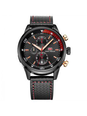 MINI FOCUS Mf0017G 4317 Leisure Pin Buckle Men Watch