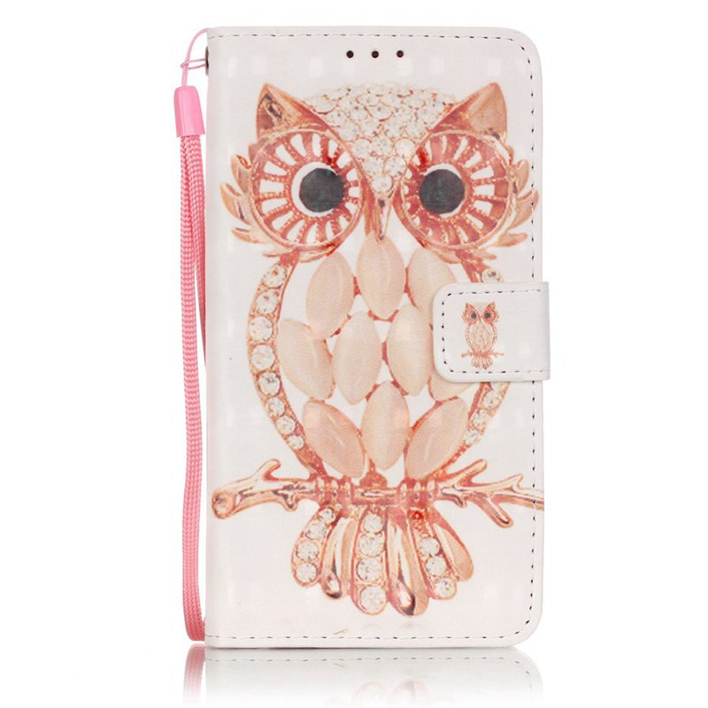 New 3D Painted Pu Phone Case for Samsung Galaxy A5 2016 230074609