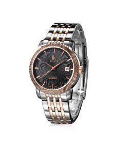 IKCOLOURING 98449G 4593 Espejo Espejo Hombre Reloj - Rosa De Oro