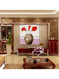 Hua Tuo Flower Oil Painting Size 60 X 60CM Osr- 160664 - 24 X 24 Inch (60cm X 60cm)