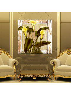 Hua Tuo Flower Oil Painting Size 60 X 60CM Osr- 160666 - 24 X 24 Inch (60cm X 60cm)