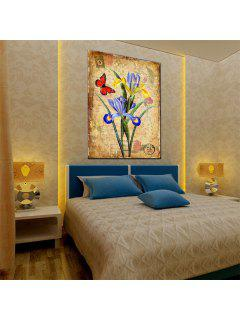 Hua Tuo Flower Butterfly Oil Painting Size 60 X 90CM Osr- 160423 - 24 X 36 Inch (60cm X 90cm)