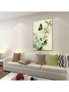 Hua Tuo Flower Butterfly Style Oil Painting Size 60 X 90CM Osr- 160428 - 24 X 36 Inch (60cm X 90cm)
