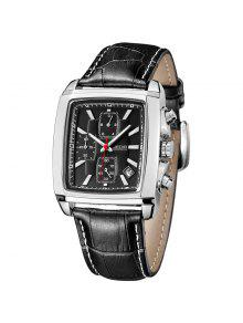 Montre Homme Jedir 2028 5292 Multifunctional Calendar Watch - Noir