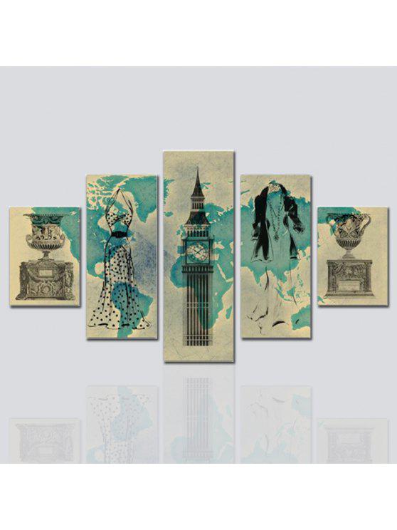 HX ART Kein Rahmen Leinwand Set Malerei Abstrakte Still Wohnzimmer  Dekoration Gemälde