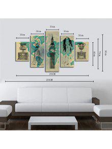 ... HX ART Kein Rahmen Leinwand Set Malerei Abstrakte Still Wohnzimmer  Dekoration Gemälde ...