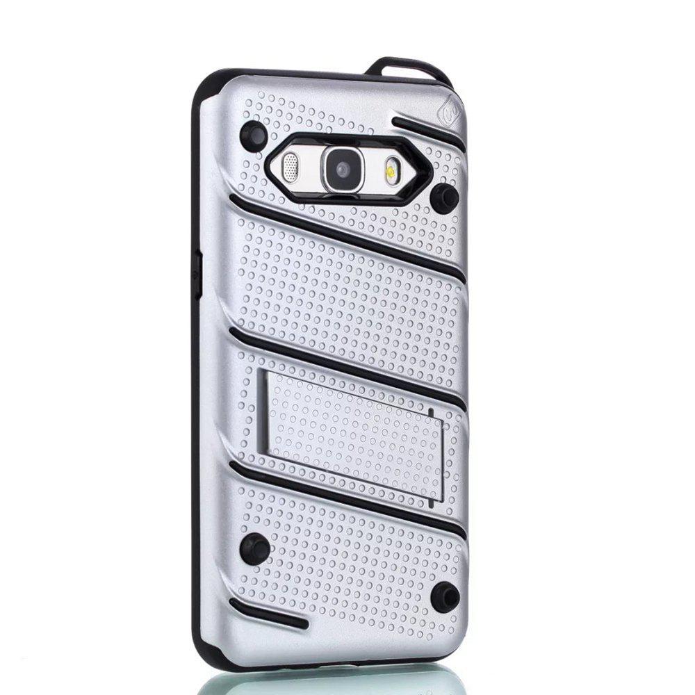 Wkae ultra doux à double couche antidérapant TPU Housse de protection avec Kickstand pour Samsung Galaxy J5 2016