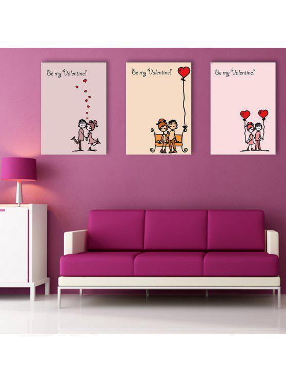 Yc Diseño Especial Pinturas Sin Marco Canción De Amor China De 3 ...