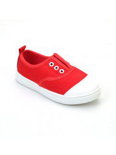 Canvas Shoes For Children - Red 24