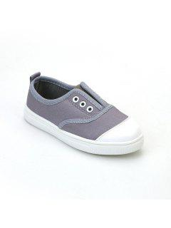 Canvas Shoes For Children - Gray 33