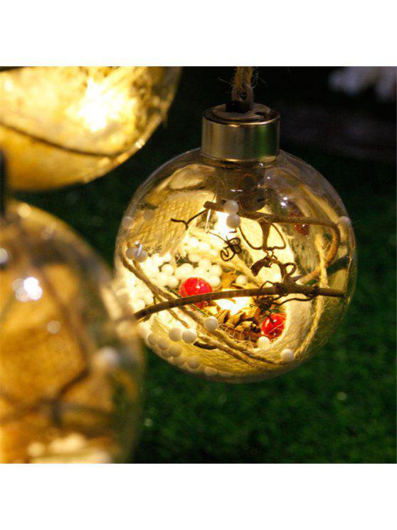 Neue LED Lampe Kugel Weihnachtsbaum Dekorationen - Warmes Weiß