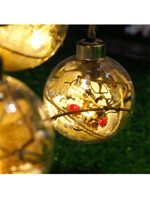New LED Lamp Ball Christmas Tree Decorations