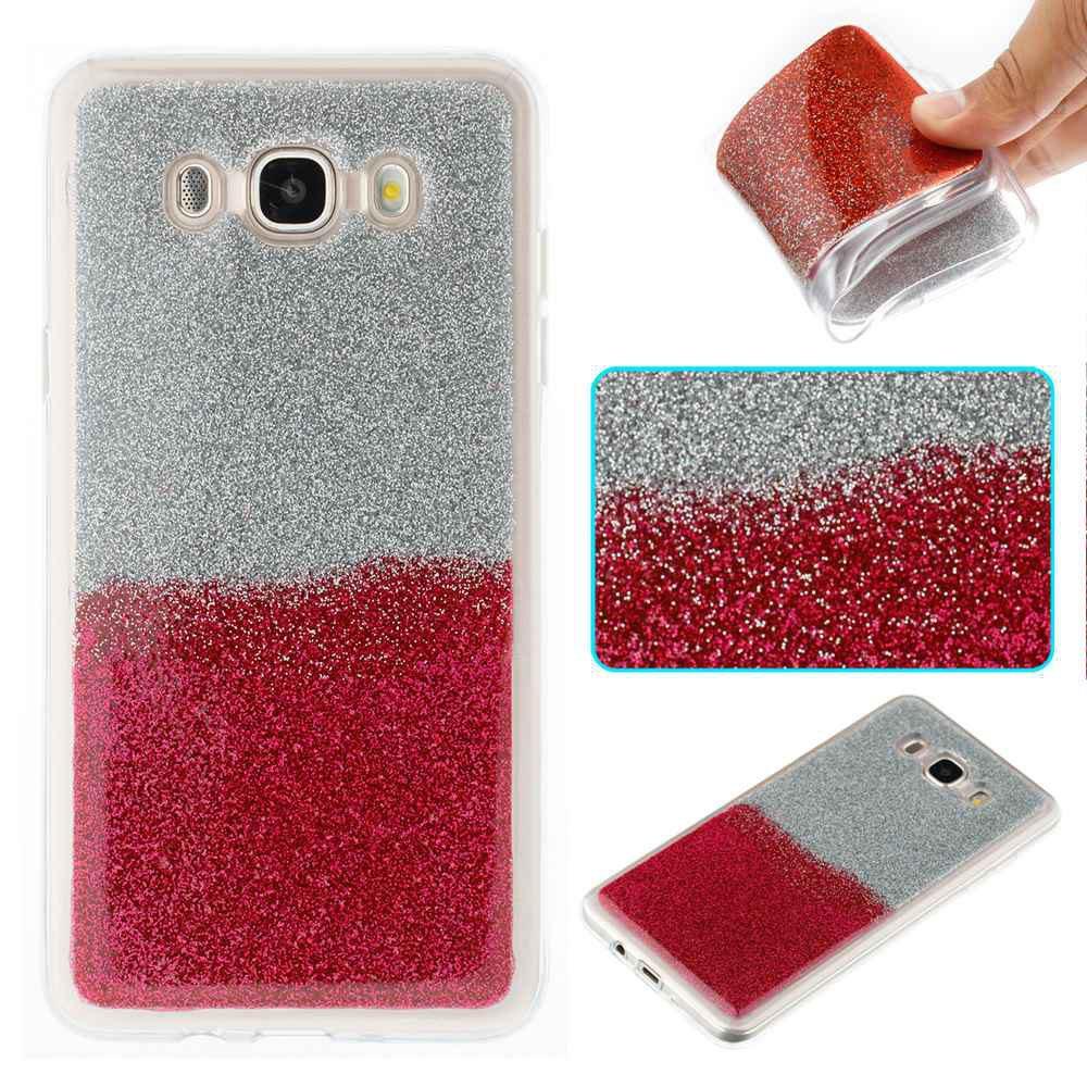 Cas de téléphone TPU bicolore pour Samsung Galaxy J7 2016