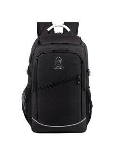 Men'S Business Computer Bags Casual Backpack - Black 2b#