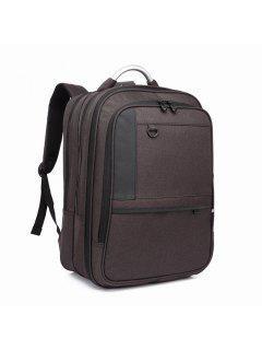 Student Backpack Laptop Bag Outdoor Travel Male - Black 2r2610#