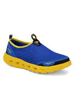 Super Light Breathable Men Sneakers - Blue 40