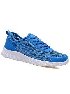 Super Light Breathable Sneakers - Light Blue 40