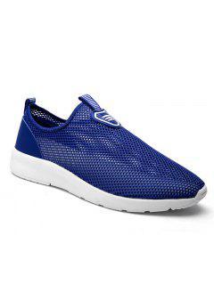 Slip On Light Breathable Sneakers - Blue 40