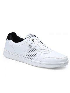 Hiver Loisirs Mode Chaussures Plates - Blanc 40