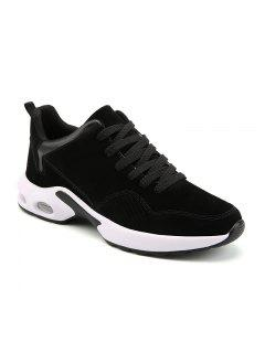 Men Autumn Fashion Sneakers - Black White 40