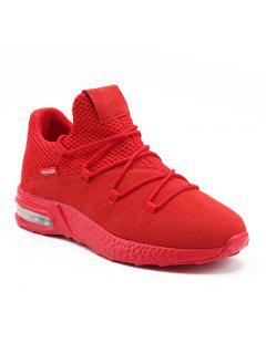 Boost Solid Fashion Sneakers - Red 40