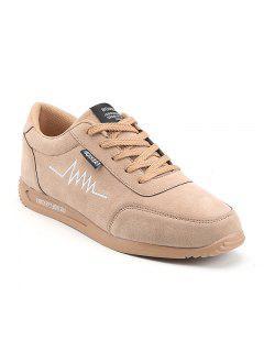 Chaussures Plates Confortables Confortables De Loisirs - Abricot 40
