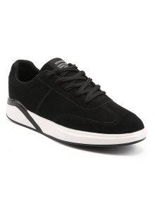 أزياء مريحة الرجال الأحذية المسطحة - أسود 40