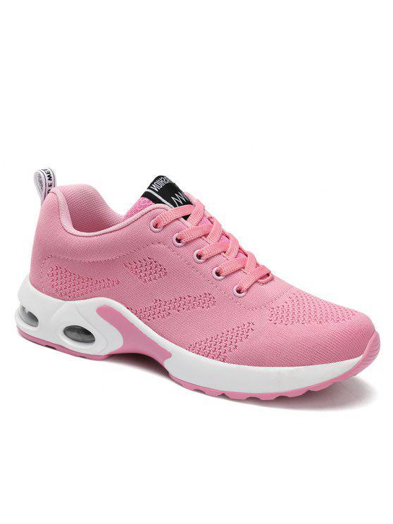 المرأة وسادة تنفس الراحة الأحذية الرياضية - زهري 38