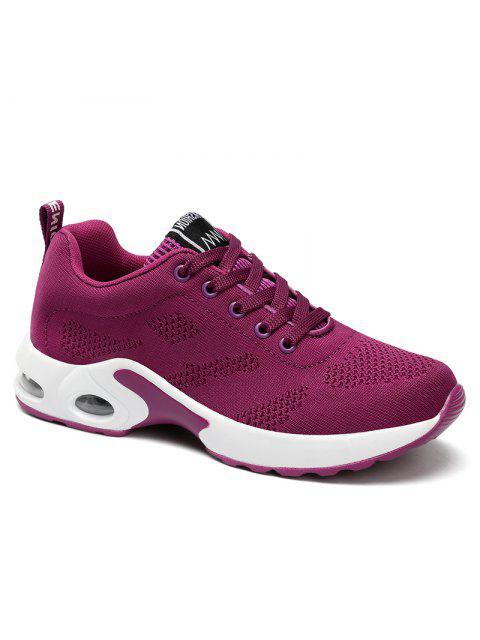 Zapatillas de deporte confortables con comodidad y amortiguación para mujer - Púrpura 35 Mobile