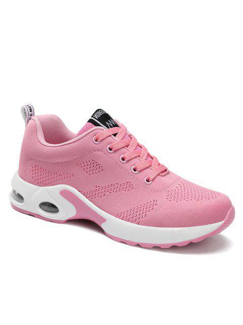 Zapatillas de deporte confortables con comodidad y amortiguación para mujer - Rosado 37 Mobile