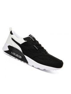 Men Casual Fashion Outdoor Air Rubber Travel Winter Warm Shoes Size 39-44 - Black 40