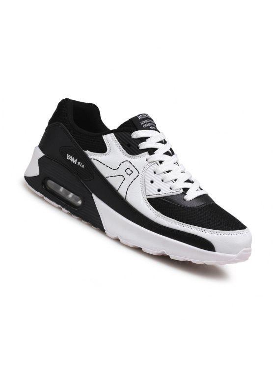 الرجال عارضة الأزياء المشي السفر الشتاء الدافئة الأحذية حجم 39-44 - أبيض 43
