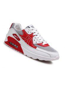 الرجال عارضة الأزياء المشي السفر الشتاء الدافئة الأحذية حجم 39-44 - أحمر 41