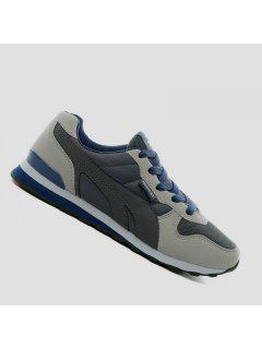 Los Hombres De Moda Casual Al Aire Libre De Gamuza De Invierno Cálido Zapatos Tamaño 39-44 - Negro 40