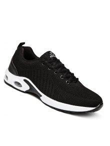 الرجال عارضة أزياء تنفس السفر الشتاء الخريف الدافئة الأحذية حجم 39-44 - أسود 43